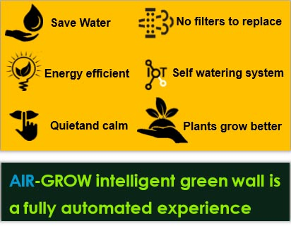 air grow intelligent green wall