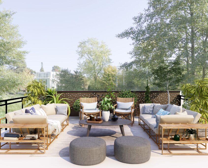 Balcony Garden and Terrace Garden Design