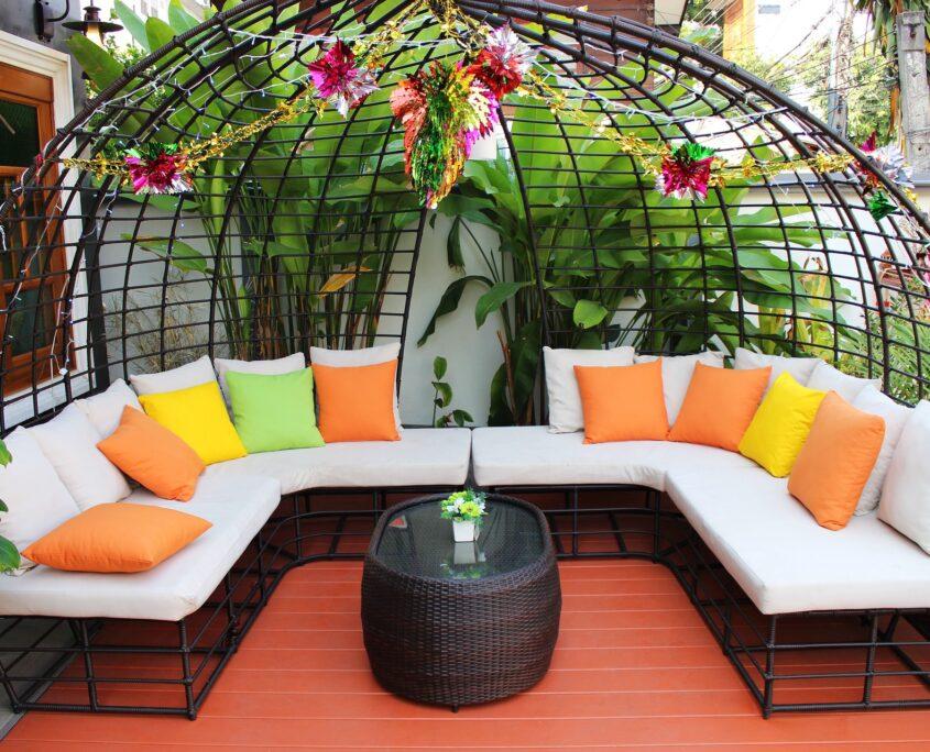 Balcony Garden and Terrace Garden Designs